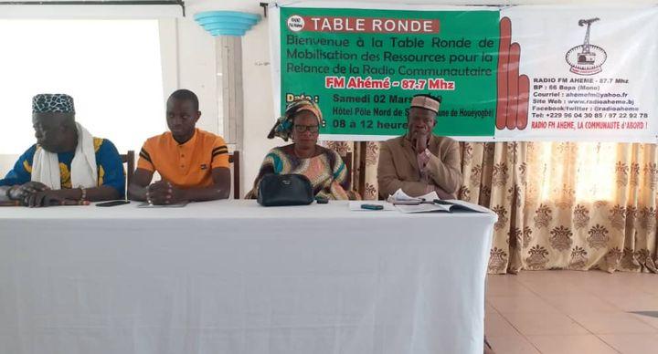 La relance de la radio fm Ahémé de Possotomè : Le défi du nouveau conseil d'administration