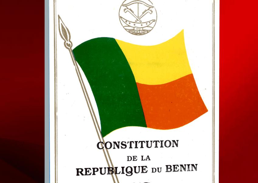 Bénin : laconstitution de la république révisée.