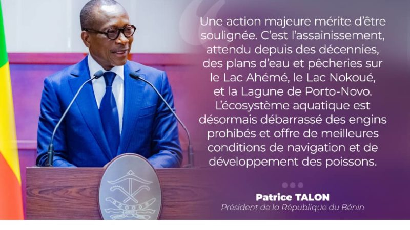 Patrice Talon face à la représentation nationale : « L'heure du développement du Bénin a enfin sonné»