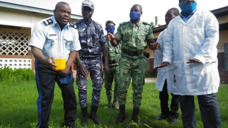 Célébration de la journée mondiale de l'environnement à Comé : agents des eaux, forêts et chasse et la police républicaine s'engagent pour le même combat