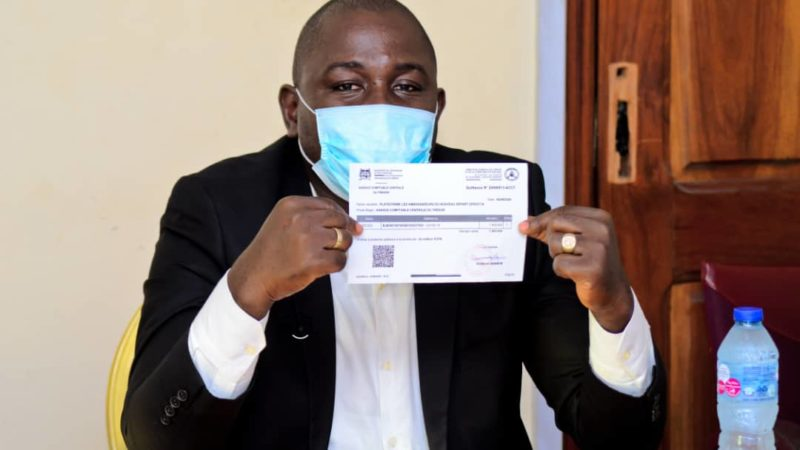 Lutte contre la Covid-19 : L'AND offre un million de francs CFA au gouvernement béninois