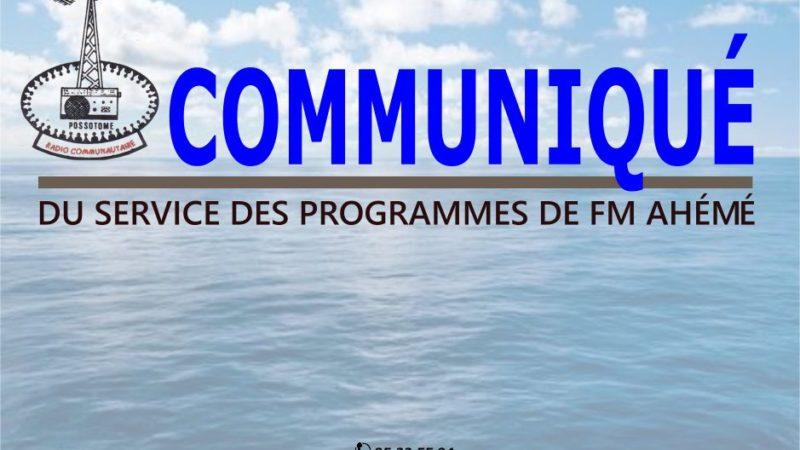 RADIO FM AHEME : grille spéciale communales 2020