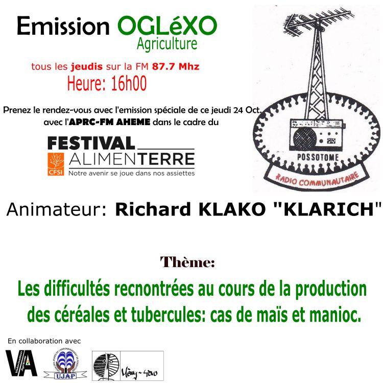 Emission Oglexo (Agriculture)